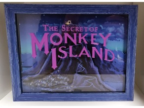 The Secret of Monkey Island 3D Diorama