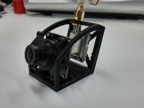 Eachine 700TVL FPV Camera and Transmitter ET200 Mount