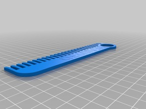 Wide Tooth Comb - BEARD3D