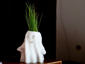 Halloween Ghost Planter