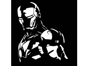 Iron Man stencil 3