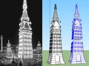 Luna Park Electric Tower- Coney Island Play Set