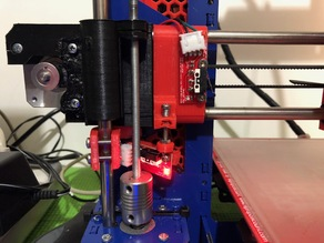 z-endstop joined with extended x-mount for p3 steel prusa