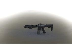 AR Glue together model