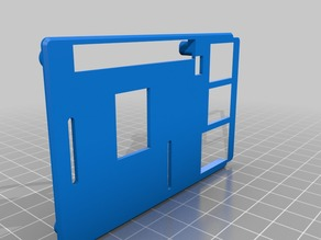 Raspberry pi 3 case B+ top cover for PoE pins