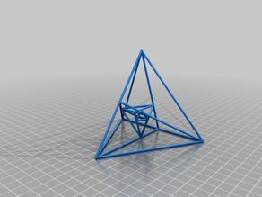3 Nested Tetrahedrons