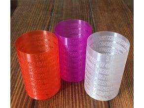Pi Beer Cozy in Vase Mode