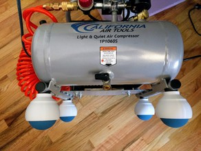 California Air Tools 1P1060S Compressor Anti-vibration Feet