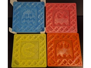 Space Invaders & Pacman coasters