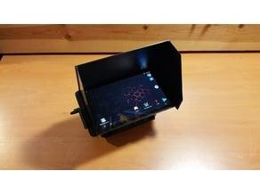 NVidia Shield Tablet Sun Shade / Hood (For DJI Mavic Cnt Mount)