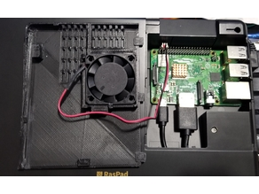 RasPad Slot Covers (with Fan and without)