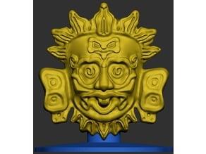 Maya Sun God