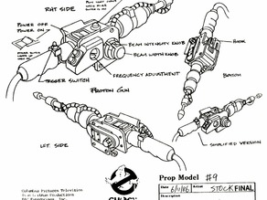 real ghostbusters proton pack,silly sttring shooter