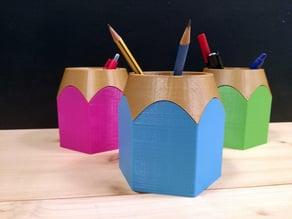Pencil pot