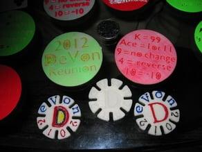 DeVon 2012 Reunion Coin