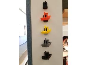 3D Benchy Wall Mount Display