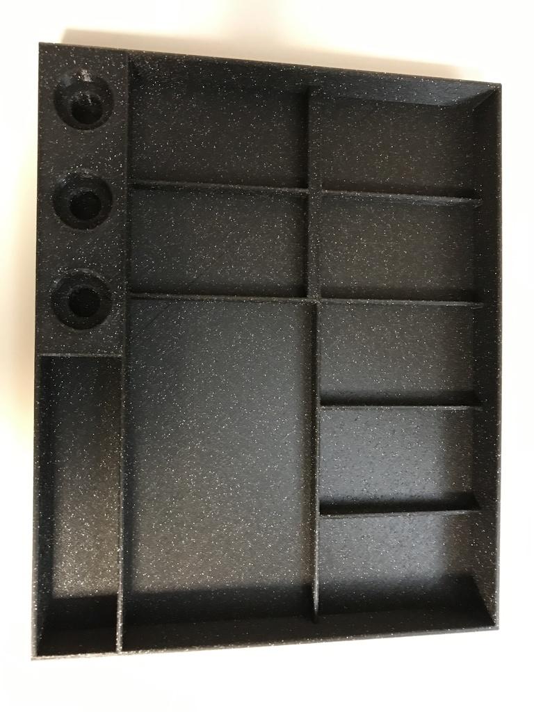 Carbide 3D Shapeoko/Nomad Tool Organizer by fbagheri - Thingiverse