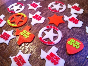 South By Southwest Guitar Picks