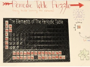 Periodic Table Learning Puzzle