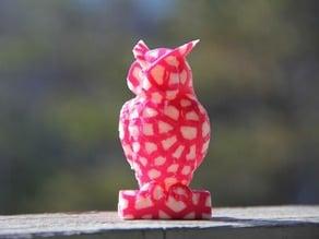 Owl Statue - Voronoi Remix - Dual Extrusion
