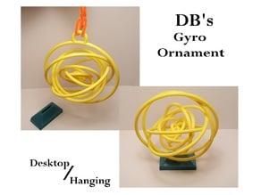 DB's Desktop/Hanging Gyro Ornament