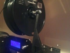 overhead spool holder