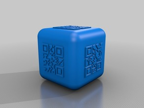 qr code dice smooth