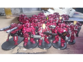 Space Marine Squad for Space Crusade (Starquest)