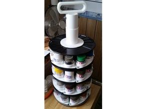 Tamiya Paint Storage Spool