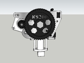 Fishbone gears for k8200