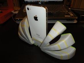 iFan - iPhone Dock that looks like a fan (or peacock?)