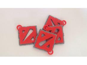 DOTA 2 Logo & Keychain