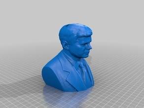 John F. Kennedy Bust Bank