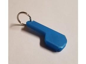 Keychain Floss Pick Holder