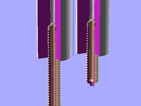 hot-end pieces for OpenSCAD