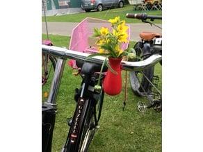 Fietsvaas 02 - Bike vase 02