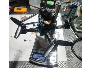 Eyas X3 Camera top plate & XT30 mount