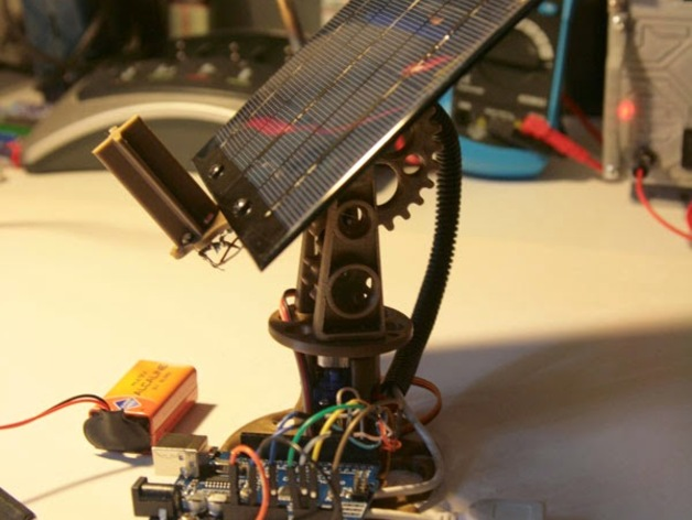 Mast a mini arduino solar tracker axis by oclains