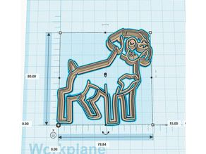 Boxer Cookie Cutters