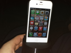 Iphone 4 / 4s car cup holder / cup docking