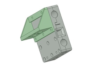 E3D Chimera / Cyclops mount for Prusa i3 X-Axis carriage upgrade