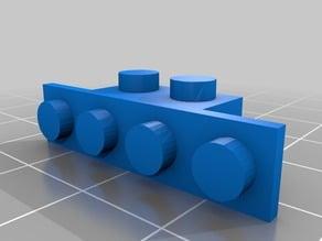 lego skinny side 1x2x4x1