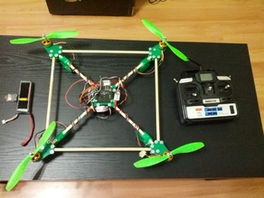 5/16 (8mm) Rod Based MultiWii Quadcopter