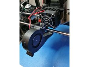Rigidbot single head cooling fan mount Rev-3