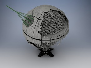 Death Star 2 LEGO Model