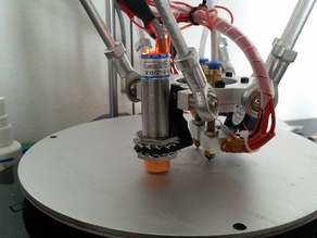 Inductive Proximity Sensor Mount for Geeetech G2s for large Sensors
