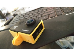 Universal Action Cam Skeleton GoPro Mount Case - GoPro - SJCAM - EKEN - YI CAM - Most Chinese Action cams