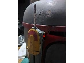 Mandalorian helmet compact RF