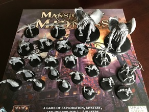 Mansions of Madness 2nd Edition Miniature Bases