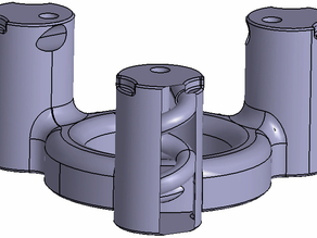 Rostock Cyclone cooling ring
